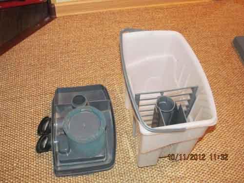 Фото контейнера для сбора воды моющего пылесоса Zelmer Aquawelt тип 919.5 ST