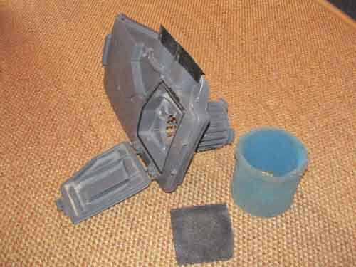 фото фильтров моющего пылесоса Zelmer Aquawelt тип 919.5 ST